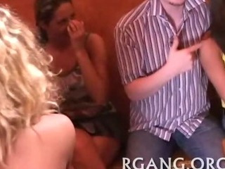 Porn Tube of Lesbo And Straight Group