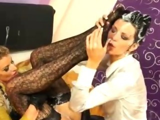 Porno Video of Glam Bukkake Fetish Hotties