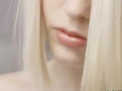 blond angel and art of masturbation