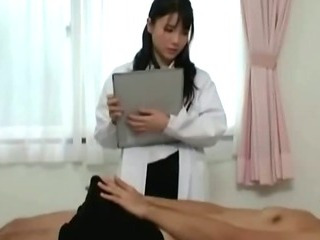 Porn Tube of Japanese Nurse Slut Sucks Horny Patient Cock