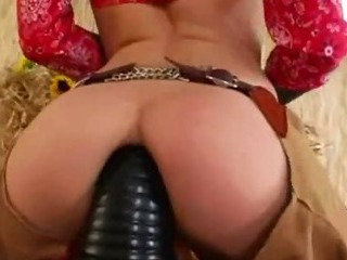 Porno Video of Brutal Anus Threesome With Cowboy