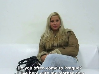 Porno Video of Czech Casting - Hot Blond Angel Veronika (3483)