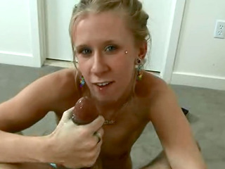 Porn Tube of Skinny Real Amateur Blonde Chick Sucks And Rides Dick Until It Shoots Sperm