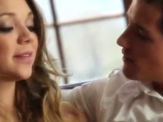 Porn Tube of Jessie Make Charming Blowjob And Fucking