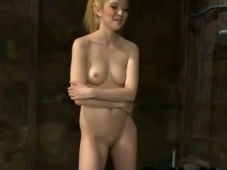 Porn Tube of Blonde Fucks Machine And Cums And Then Rides Sybian