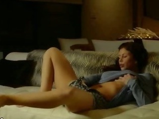 Porn Tube of Brunet Beauty Trying To Reach Orgasm