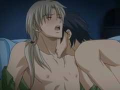 Hentai gay kisses and hardcore sex