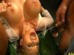 Fetish slut fuck piss shower
