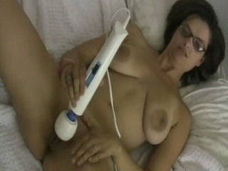 Porno Video of Titty Latina Milf In Glasses Toying Pussy