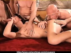 This is the hottest Gang-Bang EVER!