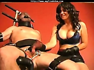Porno Video of Dominatrix Cock And Balls Torture
