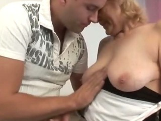 Porn Tube of Chubby Mature Alice With Her New Boy