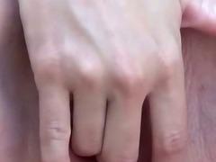 Weird amateur pregnant solo masturbation