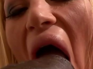 Porno Video of Glamour Girl Sucks Bukkake Dildo And Gets Jizzed