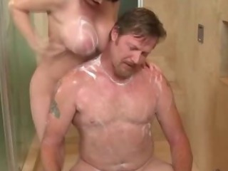Porno Video of Massage Babe Washing Client