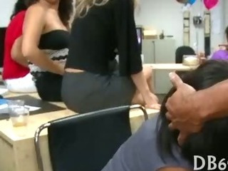 Porno Video of Very Hot Hard Sex In Girls Office