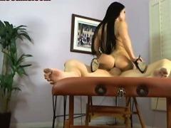 Babe Riding A Big Cock