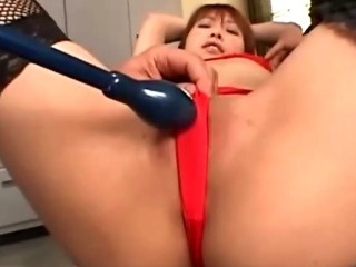 Porn Tube of Asian Fetish Slut Enjoys Vibrator Play