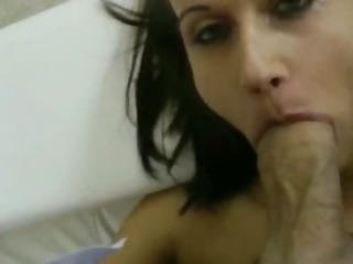 Porno Video of Dark Short Haired Madlin Slurping Big Shaft And Analized In Pov
