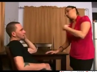 Porn Tube of Bbw House Wife Get A Load
