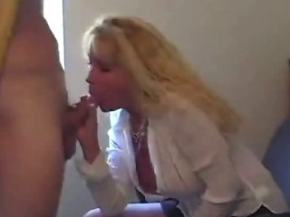 Porno Video of Mature Hot Secretary Swallow Cum