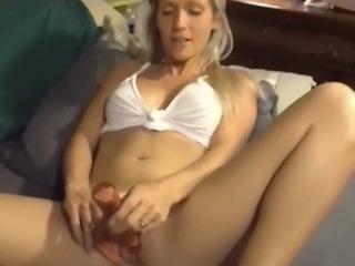 Porn Tube of Milf Likes Toys But She Prefers Real Hard Cock In Mouth