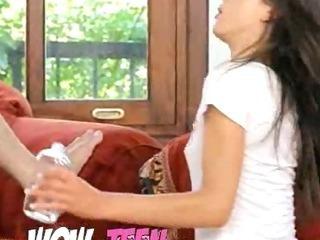Porno Video of Teen Gaunt Girl Screaming During Orgasm