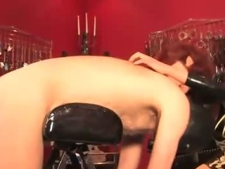 Porno Video of Mistress Whipping Her Subject For His Punishment
