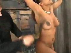 Sinnamon Love bound, forced orgasms