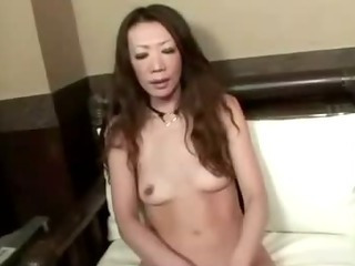 Porn Tube of Asian Milf Shows Her Super Slimy Hairy Cunt