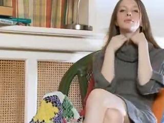 Porno Video of White Socks And Ultracute Masturbation