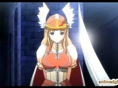 Shemale hentai Princess hard poked from behind anime bigboobs princess