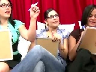 Porno Video of Cfnm Slut Sucks On Cock At Fetish Femdom Party