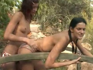 Porno Video of Beautiful Girls Licking Holes Outdoors