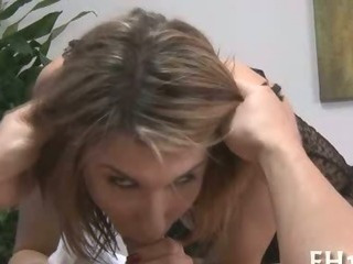 Porno Video of Hottie Sucks After Sex