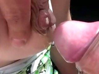 Porno Video of Weird Bizarre Preggo Bj Slut