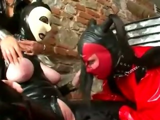 Porn Tube of Lezdom Slave Bitch Spanks