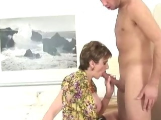 Porno Video of Mature Femdom Blowjob Fuck