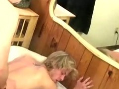 Blond twink gets his ass rocked by this gay twink