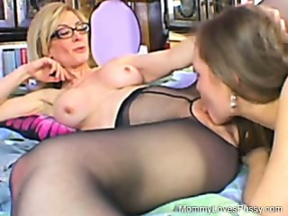 Porn Tube of Nina Hartley Is The Teacher!