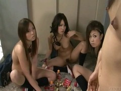 Subtitled nudist Japanese school drama with new teacher