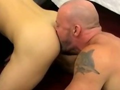 Ripped muscled hunk sucks cock eats ass and fucks