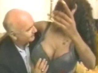 Porno Video of Big Titty Ghetto Black Afro Hoe Pussy With Old Guy