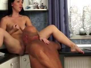 Porno Video of Grandpa Fucking Teen Slut From Behind