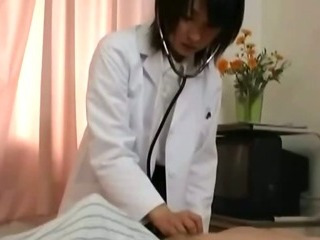 Porn Tube of Asian Slut Nurse Pussy Oral And Cock Sucking