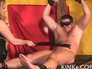 Porno Video of Her Tits Bound And Beaten