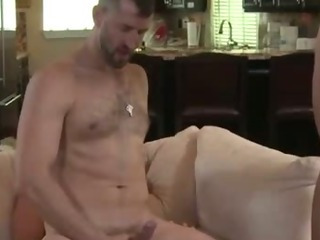 Porno Video of Two Agressive Gays Exploring One Boys Holes