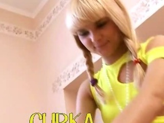 Porno Video of Beautiful Petite Blond Loly From Russia