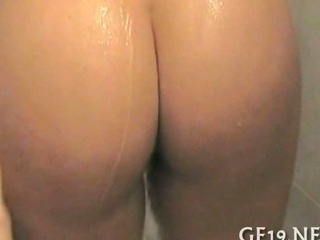 Porn Tube of Busty Girl Struggles With Dick