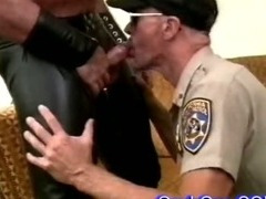 hot sweaty cop sucking hard cock